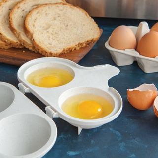 Escalfador De Huevos Nordic Ware Sin Bpa Melamina Microondas