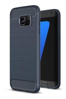 Case Capa Samsung S7 Edge + Película Silicone Frete R$ 10,00
