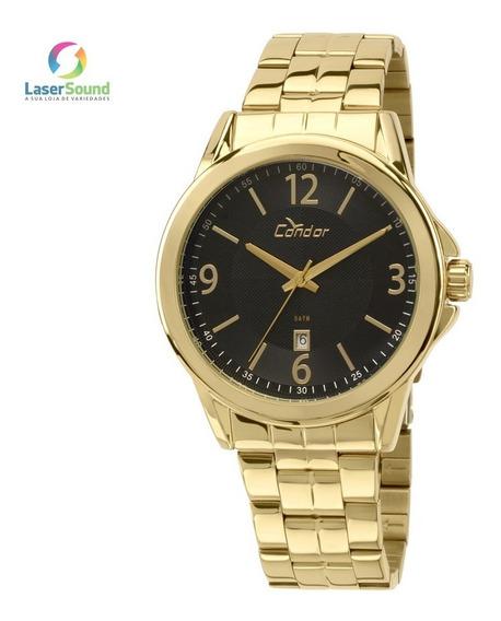 Relógio Condor Unissex Co2115vn/4p, C/ Garantia E Nf
