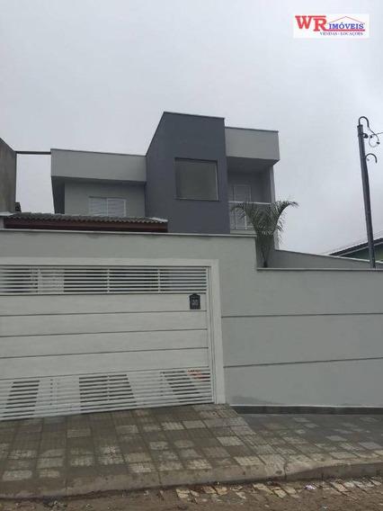 Sobrado Residencial À Venda, Centro Alto, Ribeirão Pires. - So0616
