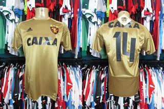 Sport Recife 2016 Terceira Camisa Tamanho M Número 14.