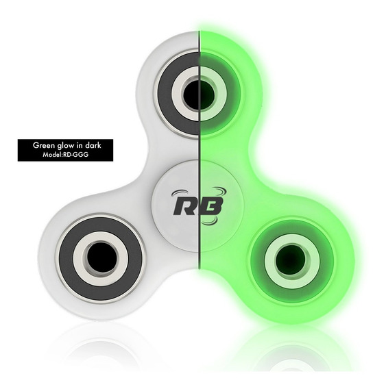 Fitged Spinner Fluorescente Anti Estres Marca Rolinblade