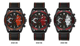 Reloj Stryve S1001 Cronómetro_calidad_cuero