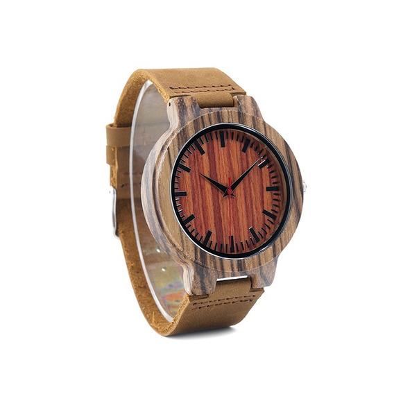 Relógio Pulso Madeira Bambu Bobo Bird Original Frete Grátis