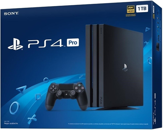 Ps4 Play Station 4 Pro Slim 1tb 4k Nuevo De Paquete