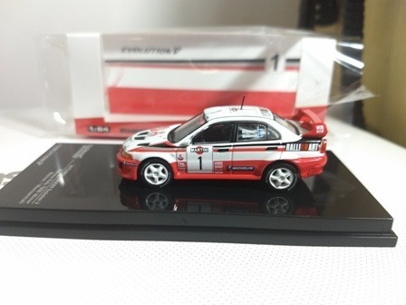 Mitsubishi Lancer Evolution 5 N1 1998 Tarmac 1/64