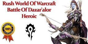 World Of Warcraft Rush Batlha Por Dazar