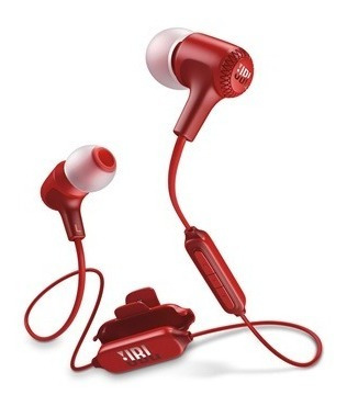Imagen 1 de 5 de Jbl E25bt Auriculares Bluetooth Micrófono Wireless Rojo
