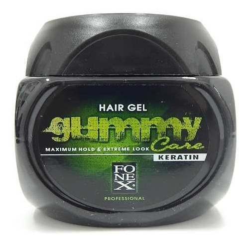 Gummy Care Keratin Hair Gel Fijacion Maxima Look Extremo
