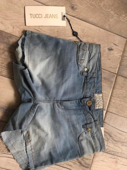 Short De Jean Clásico De Tucci Jeans Nuevo
