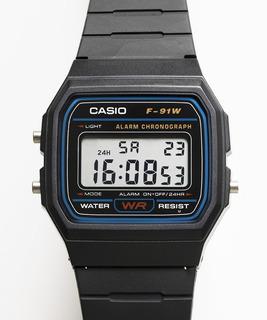 1. Reloj Casio F 91w-1d Vintage Rosario