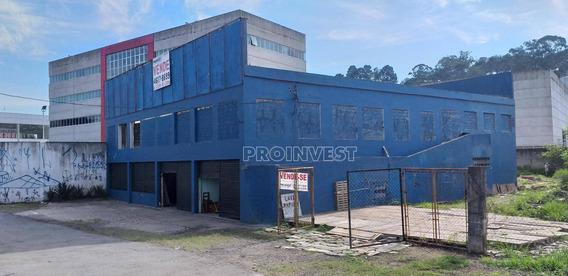 Galpão Comercial Frente Para Raposo Tavares Km 21, Granja Viana, Cotia. - Ga0639
