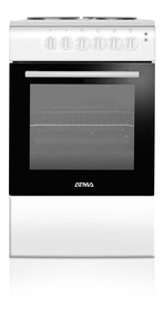 Cocina Eléctrica 50cm Atma Cce3110b Grill 4 Anafes Pintumm