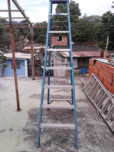 Escalera 8 Tramos Aluminio
