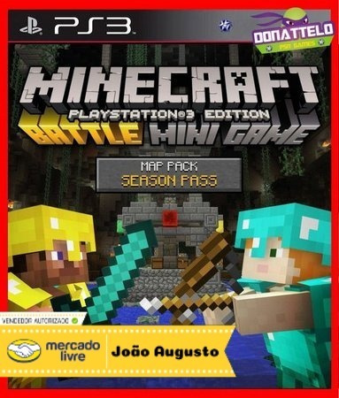 Minecraft Ps3 Edition - Todas As Dlcs