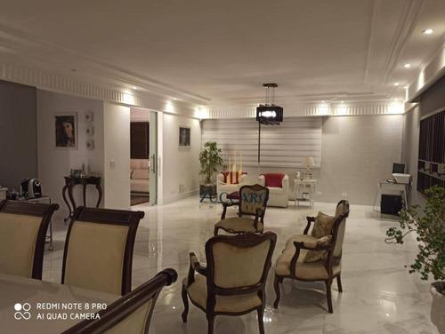 Apartamento Com 4 Dormitórios À Venda, 218 M² Por R$ 1.398.500,00 - Centro - Guarulhos/sp - Ap15902