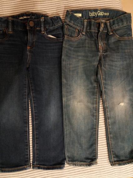 Lote Ropa 2 Pantalón Gap 3 Años Usado