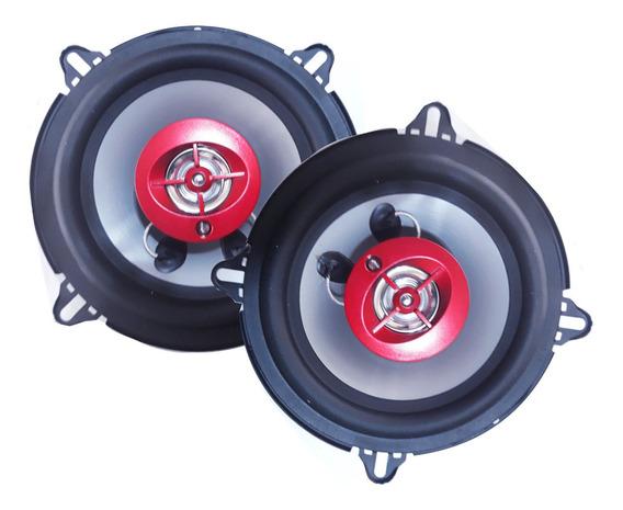 Juego Parlantes Automotor 5.25 PuLG. 120 W Magixson C/ Rejas