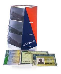 Kit Capa Proteção Documento Cnh Rg Doc Veicular Em Acrílico