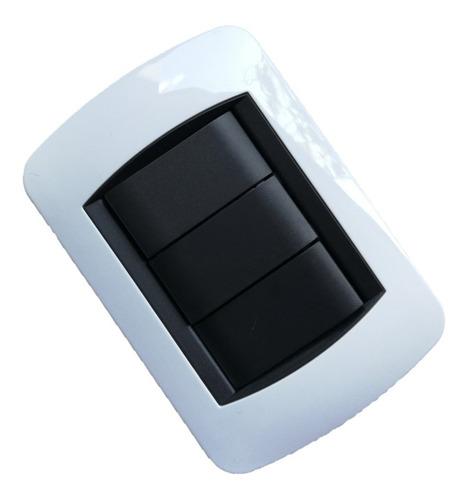 Interruptor Apagador Doble 3way 10a Tipo Bticino 3$ Al Mayor
