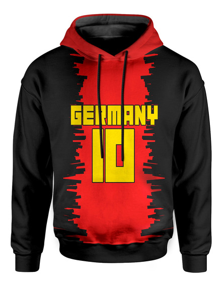 Moletom Com Capuz Unissex Alemanha Germany