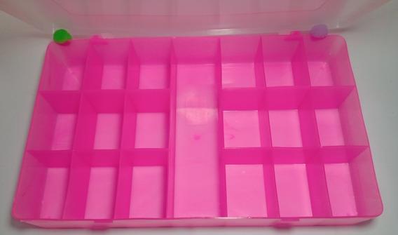 Kit Caixas Organizadora Com Divisórias - Plástica Tp