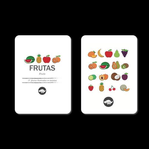 Flash Card Frutas - Tarjetas De Frutas