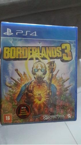 Borderlands 3 Ps4 Mídia Física Lacrado Original Playstatyon
