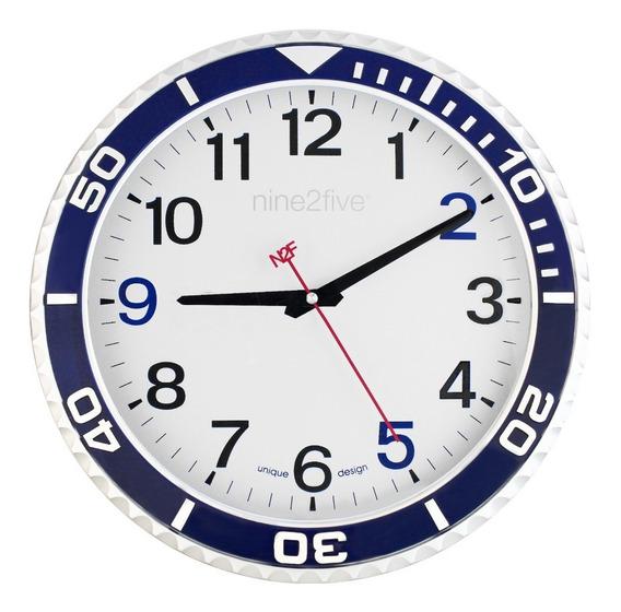 Reloj De Pared Nine2five, Pcls01az Mov Silencioso Watch It