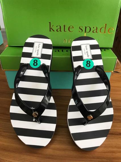 Sandalia Kate Spade Original Y Nueva. Milli Black/white