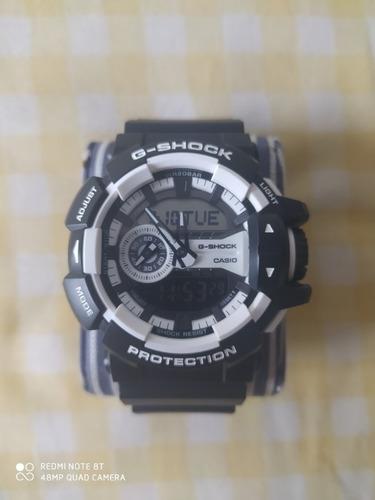 Relógio Casio 100% Original G-shock Ga-400-7adr Preto
