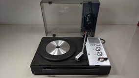 Antiga Vitrola Telefunken Disco Lp Raro Vintage Agulha Vinil