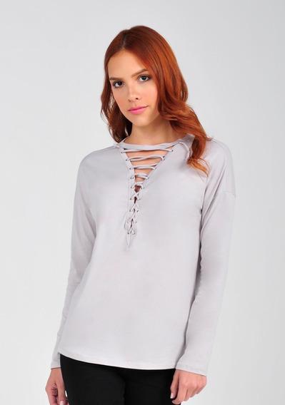 Suéter Damas Vestimenta Trenzado