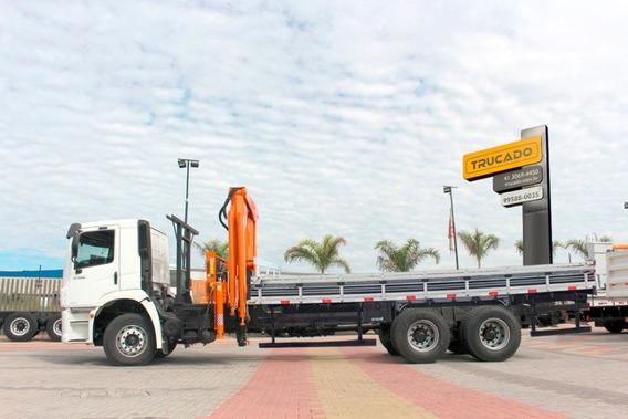 Caminhão Vw 31330 6x4 Munck Argos 43 = Cargo 2429 3133 2631