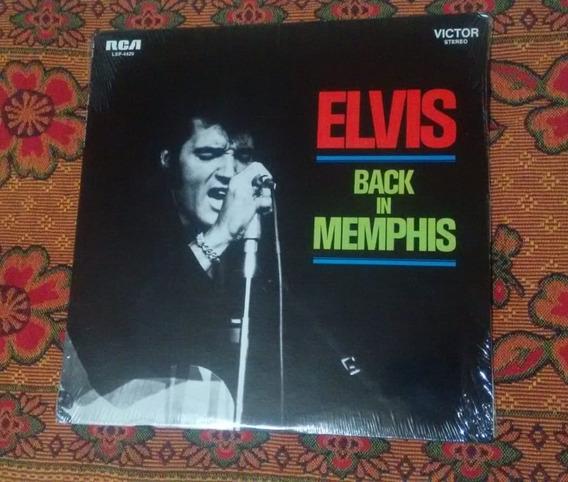 Elvis Presley Back In Memphis 1970 Uauu! Ainda Lacrado