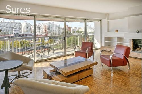 Apartamento De 3 Dormitorios En Alquiler Frente Al Parque Villa Biarritz