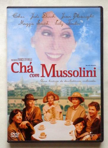 Chá Com Mussolini (dvd) | Mercado Livre