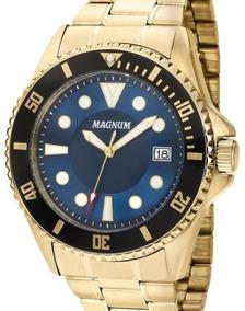 Relógio Magnum Masculino Dourado - Ma33059a