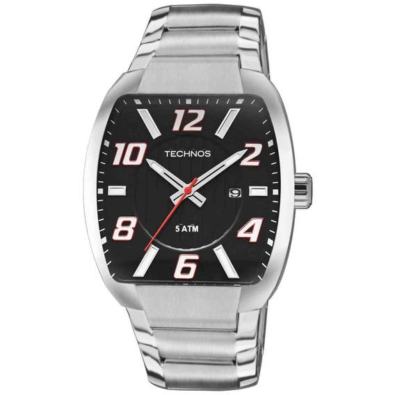 Relógio Technos Masculino Social Classic Aço Inoxidável
