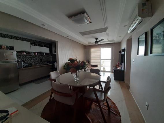 Apartamento Frente Mar 2 Dorm Com Vista Mobiliado