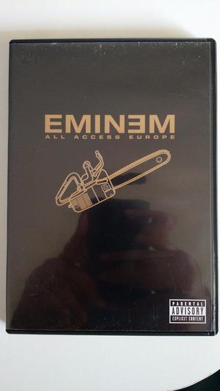 Dvd Eminem All Access Europe - Original