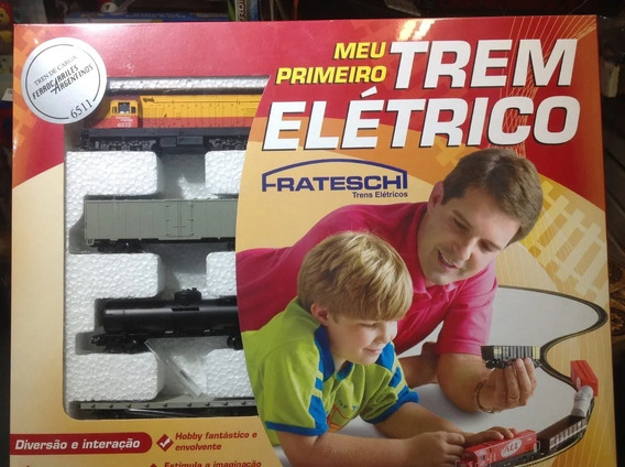 Equipo Basico Ferromodelismo Tren Electrico Comp Lima Full