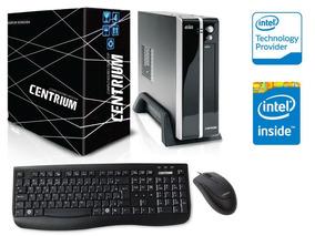 Computador Centrium Dual Core 1.6ghz 4gb 500gb Windows 10