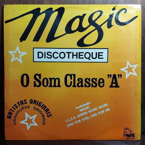 Vinil Lp Magic Discotheque O Som Classe  A