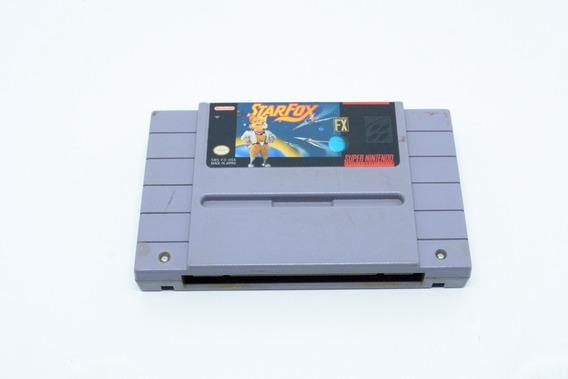 Fita Snes Star Fox Cartucho Super Nintendo
