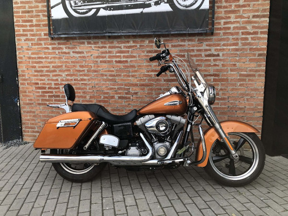 Harley Davidson Dyna Switchback 2014 Laranja