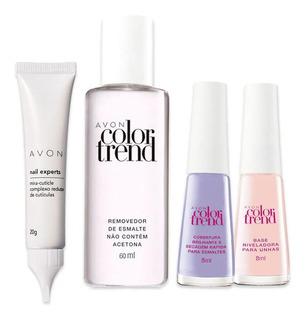 Kit Sos Unhas Avon Color Trend