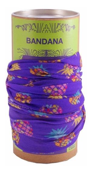 Bandana Piñas Morada Xpodisain Shop