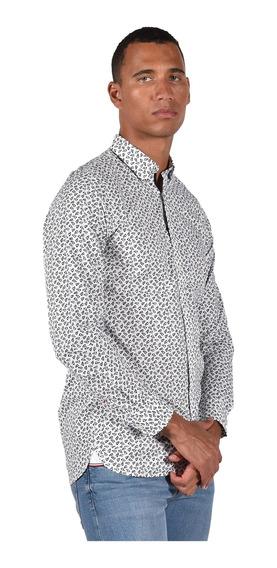 Camisa Slim Fit Tommy Hilfiger Blanco Mw0mw11025903 Hombre