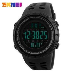 Relógio Masculino Sport Digital Preto Wr50m Skmei 1251